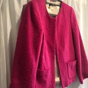 JCrew pink blazer